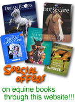 special offers on equine books - through this website.