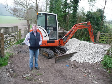 Residents up in arms at bridleway repairs