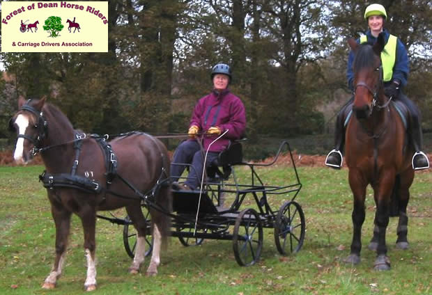 Forest of Dean & District Horse Riders' and Carriage Drivers' Association awarded Euro grant to improve bridleway network