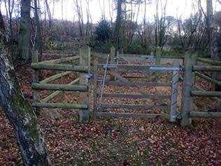 Are these the most dangerous  bridleway gates in the country ?