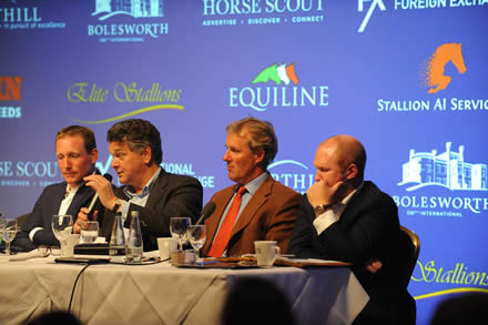 Cloning is not breeding, it is not progressive, it is looking backwards not forwards to the future,  KWPN stallion inspector tells Elite Sport Horse Seminar