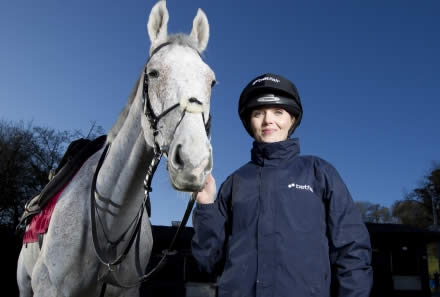 Olympic gold medal cyclist now training as a jockey for next year's Cheltenham Festival