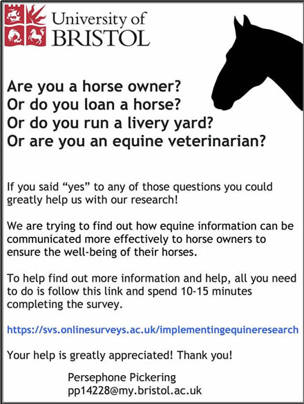 Implementing Equine Research